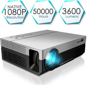 CiBest Upgraded LED Video Projector