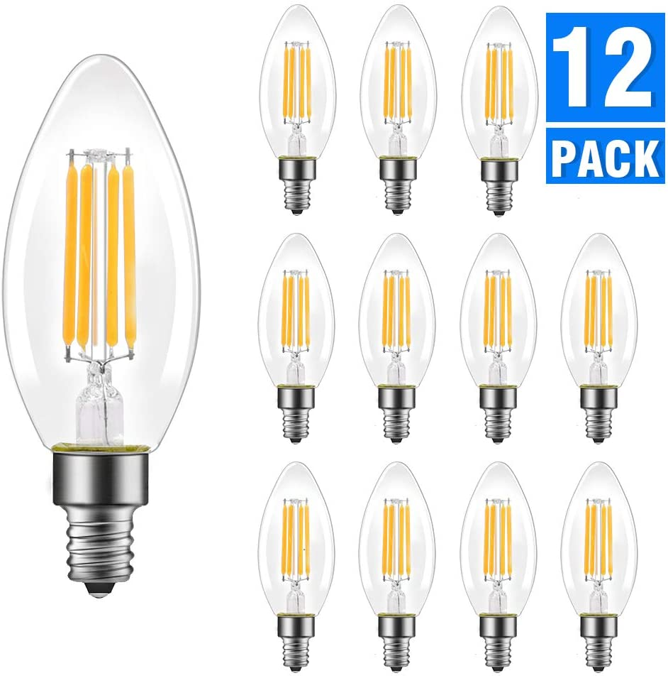 Energetic Candelabra LED Bulbs