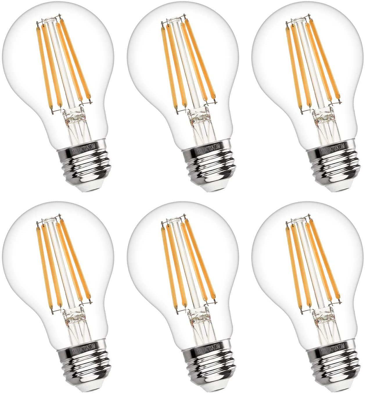 Boncoo Vintage LED Edison Bulb