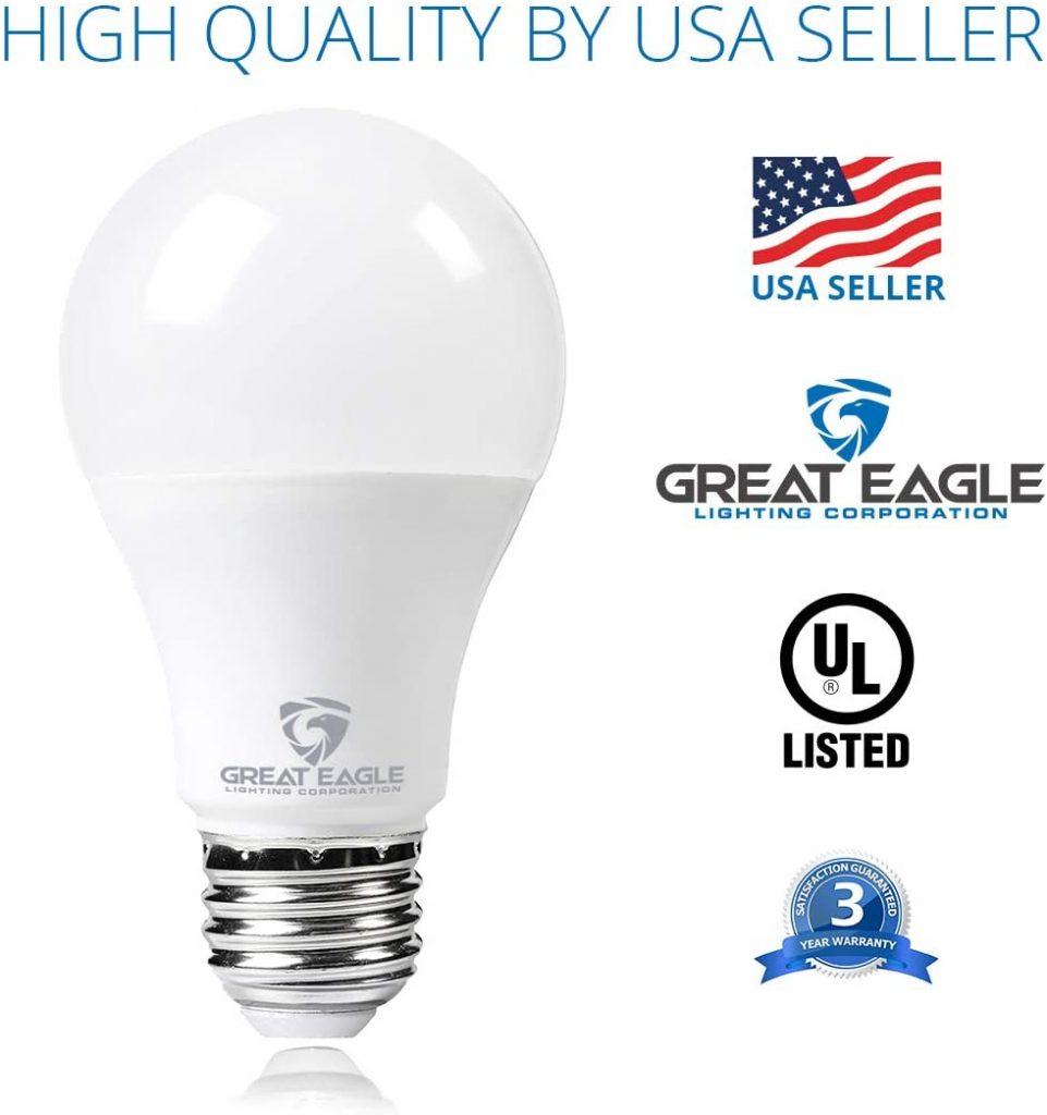 Great Eagle LED 23W Light Bulb Major Qualities