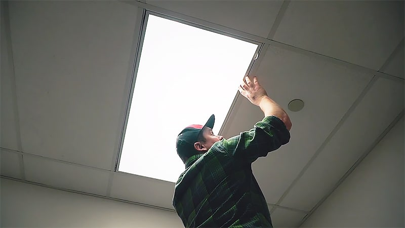 How to Hide Fluorescent Lights