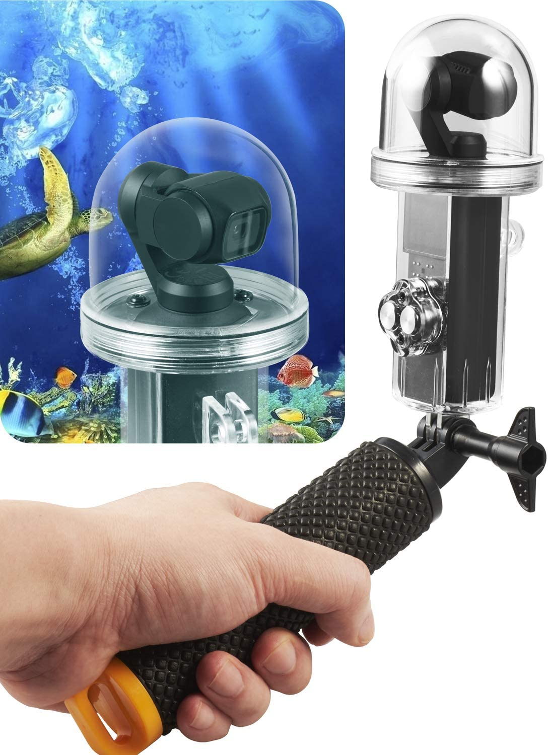 Aboom 50-Meter Underwater Photography Waterproof Case
