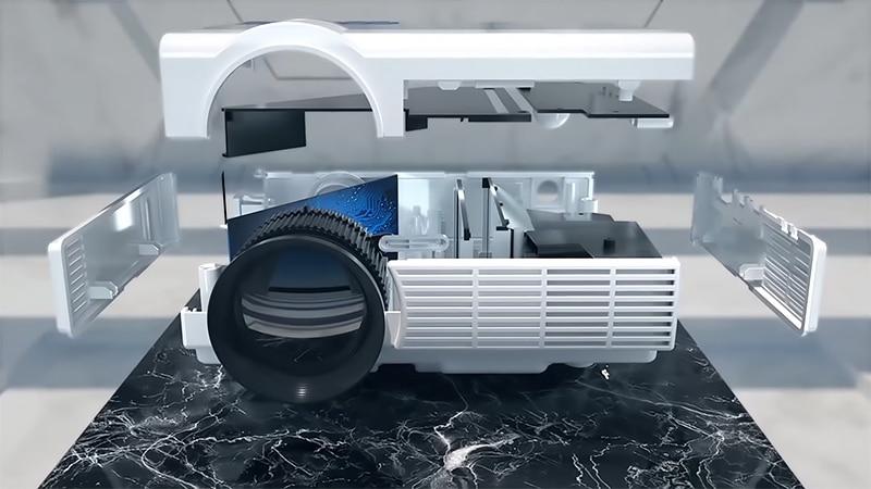 Brightness and Lamp Type Mini Projector