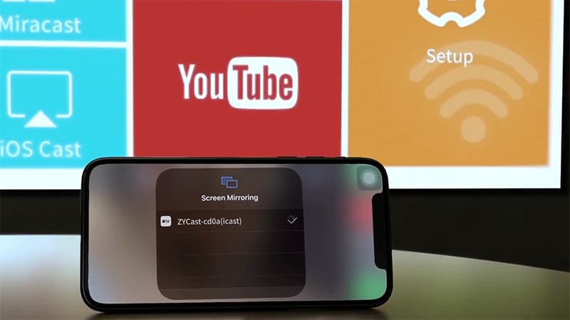 Can all phone projectors be connected to Apple devices