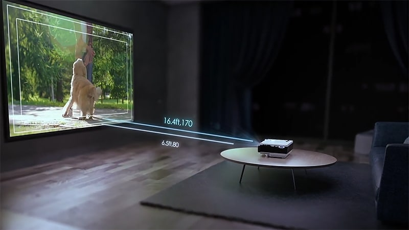 Room size when choosing a Phone Projector